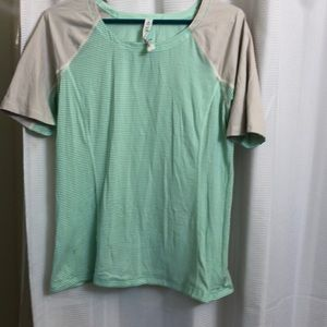 Lululemon swiftly top. Used in size 12.